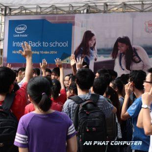 An Phat PC vs Intel giao lưu với trường Đại Học Y
