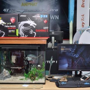 Bể cá máy tính chơi game APC aQuarium Gaming PC