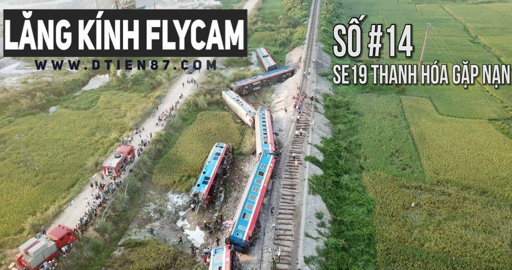 Tau SE19 bi lat - toan canh flycam