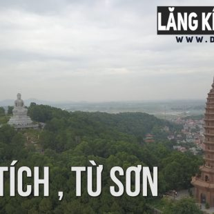 [4K] Chùa Phật Tích , Tiên Du, Từ Sơn , Bắc Ninh | Lăng kính Flycam 's dTien87