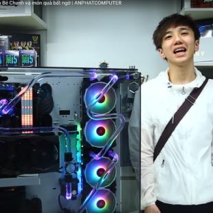 Time lapse bộ case 150 củ của game thủ Bé Chanh nhận quà bất ngờ| ANPHATCOMPUTER