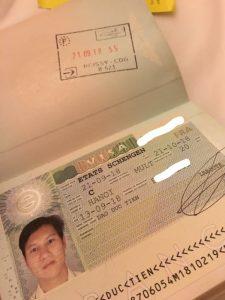 Visa chau au -eurotrip