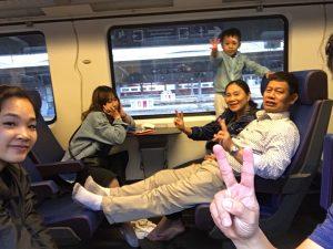 Eurail trip - tàu cao tốc châu âu - phượt châu âu