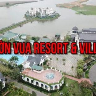 Tham quan khu nghỉ dưỡng Vườn Vua Resort , Ba VÌ  – Vuon Vua Resort from High | dTien87.com