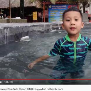 Kỷ niệm The Palmy Phú Quốc Resort 2020 với gia đình