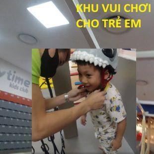 Review khu vui chơi trẻ em Playtime tại trung tâm Lotte Center Đào Tấn – Sasuke Trẻ em